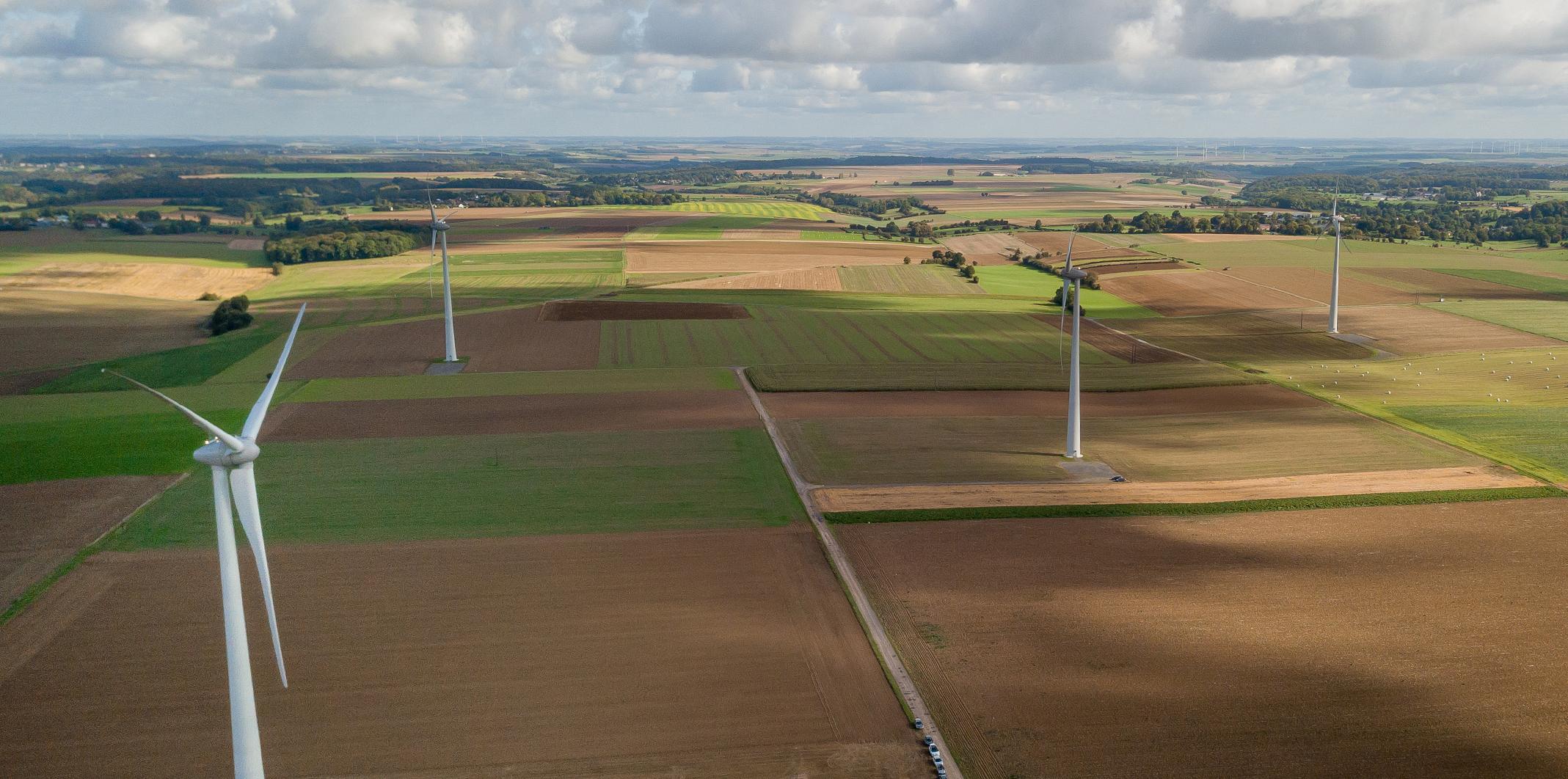 L'inauguration des parcs éoliens d'Aulnois-sur-Seille – Fossieux et de Malaucourt-sur-Seille